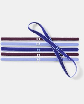 Women's UA Mini Headbands - 6 Pack  2  Colors Available $9.99