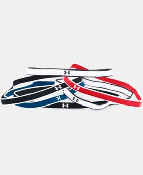Women's UA Mini Headbands - 6 Pack  1  Color Available $9.99