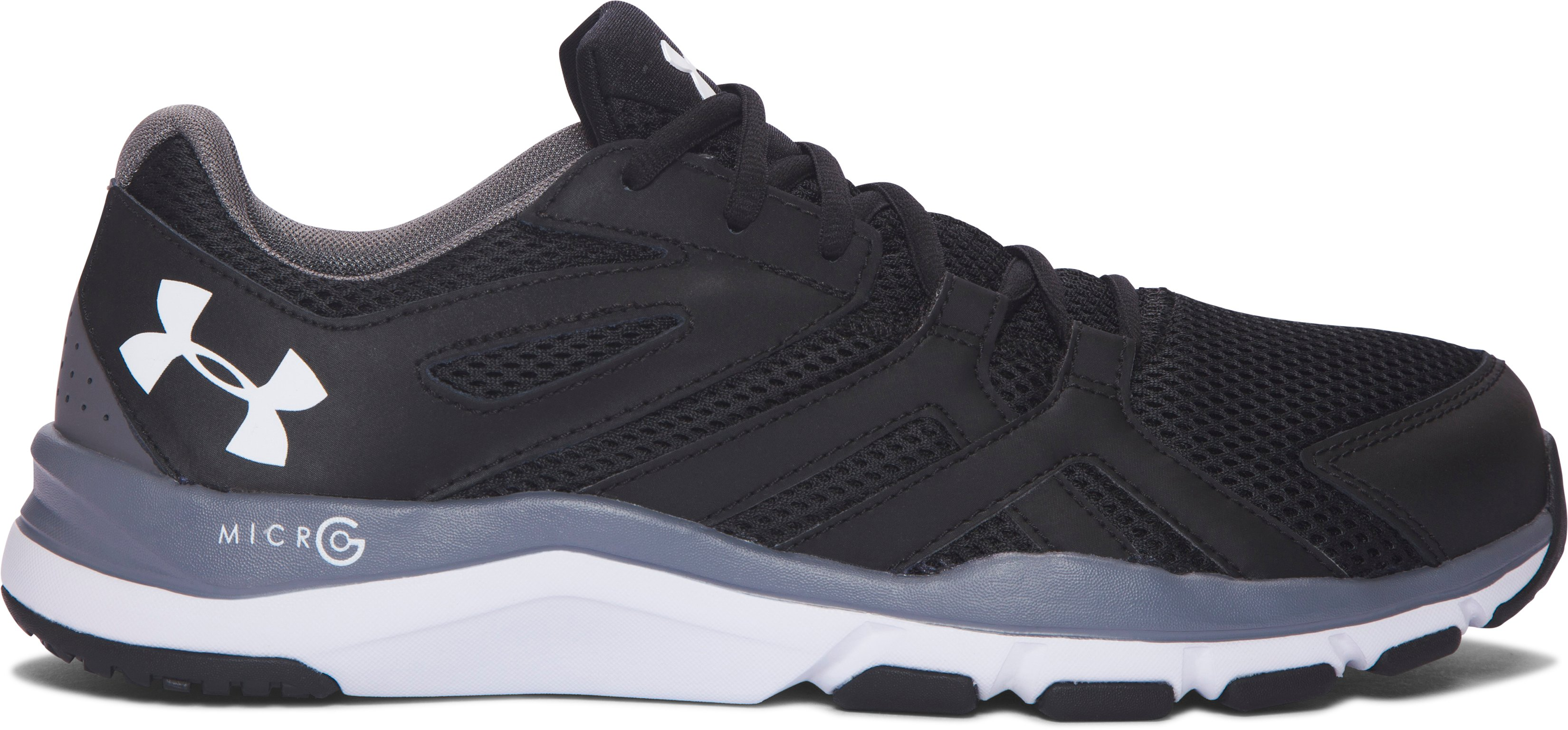 Men's UA Strive 6 — 4E Training Shoes, Black , undefined