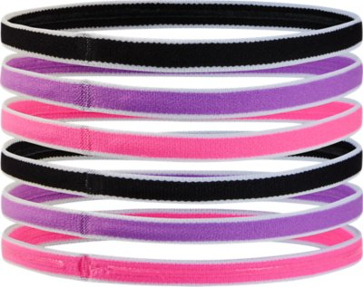 Under Armour Girls Mini Headbands 6-Pack