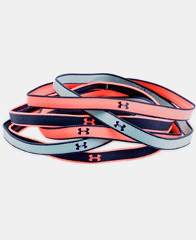 Girls' UA Mini Headbands – 6-Pack  1  Color Available $9.99