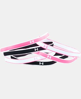 Girls' UA Mini Headbands – 6 Pack  2 Colors $11.99