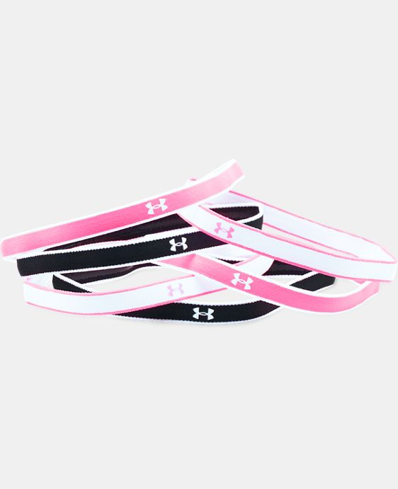 New Arrival  Girls' UA Mini Headbands – 6 Pack LIMITED TIME: FREE SHIPPING 1 Color $11.99
