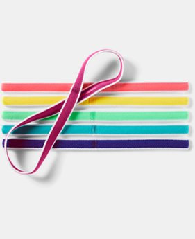 Girls' UA Mini Headbands – 6-Pack  2 Colors $9.99