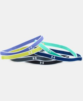 Girls' UA Mini Headbands – 6 Pack   $7.99