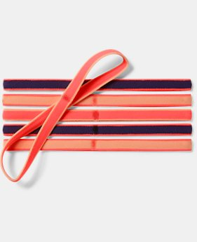 Girls' UA Mini Headbands – 6-Pack FREE U.S. SHIPPING  $9.99