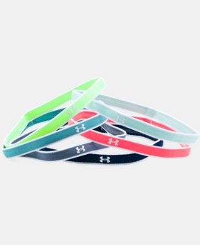 New Arrival Girls' UA Mini Headbands – 6 Pack  5 Colors $9.99