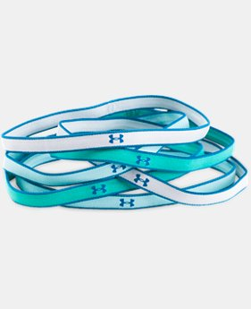 Girls' UA Mini Headbands – 6-Pack  1 Color $9.99