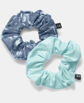 Girls' UA Scrunchies – 2 Pack   $9.99