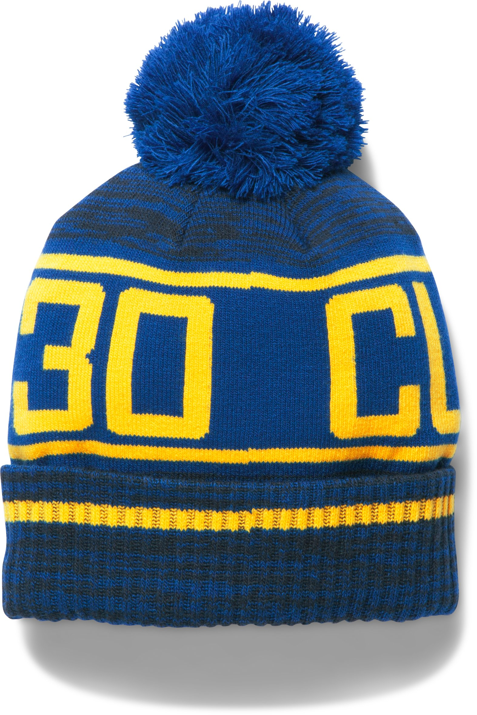 Boys' SC30 Pom Beanie, Midnight Navy, undefined