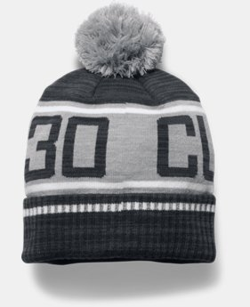 Men's UA SC30 Pom Beanie LIMITED TIME OFFER 1 Color $20.99