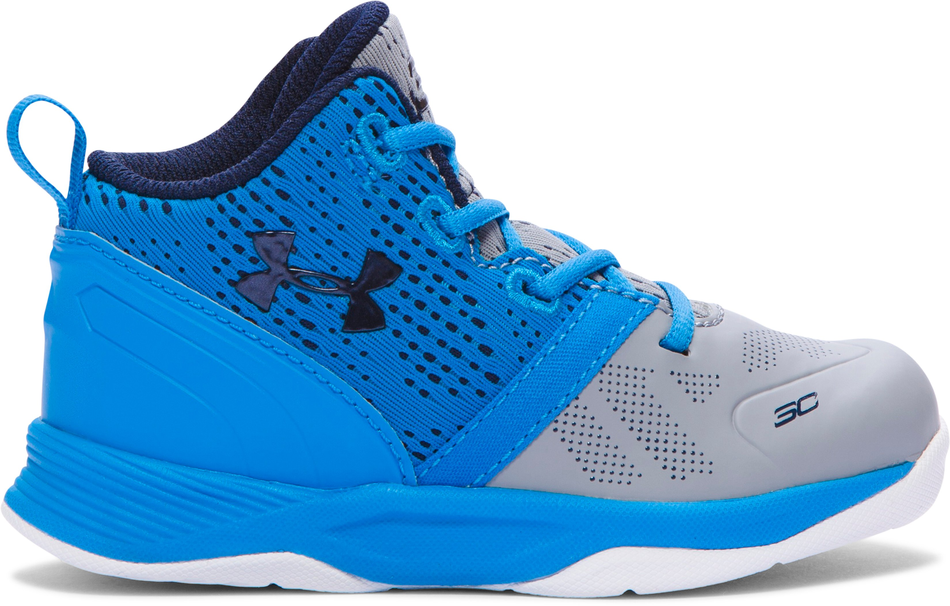 Kids' Infant UA Curry Two Basketball Shoe, Steel