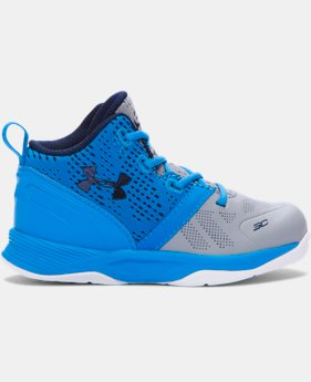 New Arrival Kids' Infant UA Curry Two Basketball Shoe  4 Colors $49.99