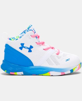 New Arrival Kids' Infant UA Curry Two Basketball Shoe  1 Color $49.99