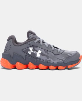 Boys' Pre-School UA Spine™ Disrupt Camo Running Shoes  1 Color $33.74