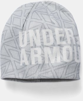 Girls' UA Graphic Beanie  1 Color $10.49