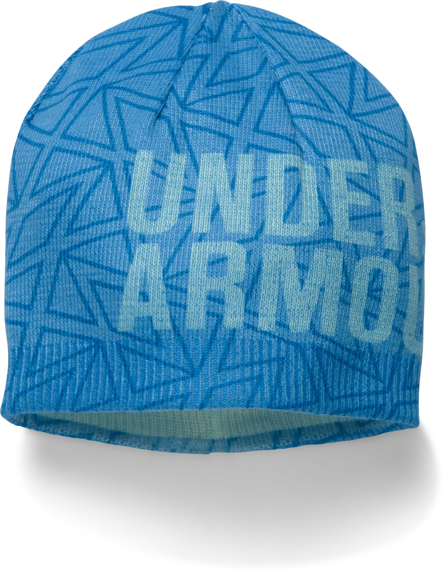 Girls' UA Graphic Beanie, Water,
