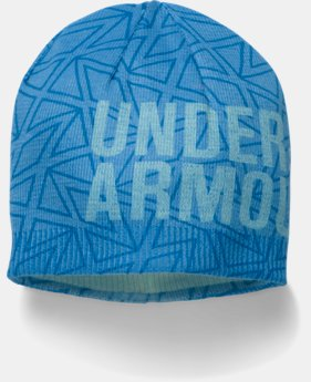 New Arrival Girls' UA Graphic Beanie   $21.99