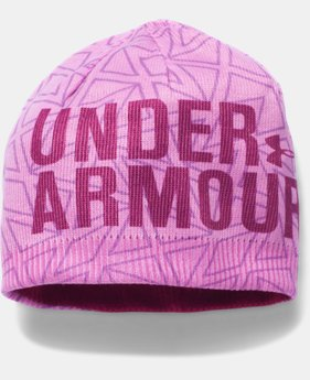 New Arrival  UA Graphic Beanie   $25.99
