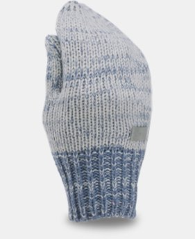 Girls' UA Shimmer Knit Mittens  1 Color $15.99 to $17.24