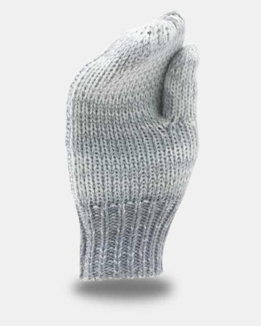 Girls' UA Shimmer Knit Mittens
