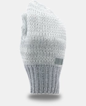 Girls' UA Shimmer Knit Mittens  1  Color Available $11.99