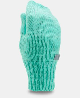 Girls' UA Shimmer Knit Mittens  2 Colors $19.99