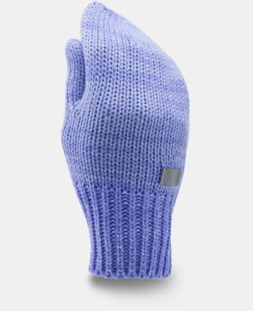 New Arrival Girls' UA Shimmer Knit Mittens   $19.99
