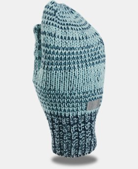 Girls' UA Shimmer Knit Mittens LIMITED TIME OFFER 1 Color $16.09