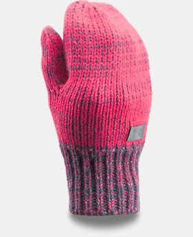 Girls' UA Shimmer Knit Mittens   $11.99 to $14.99