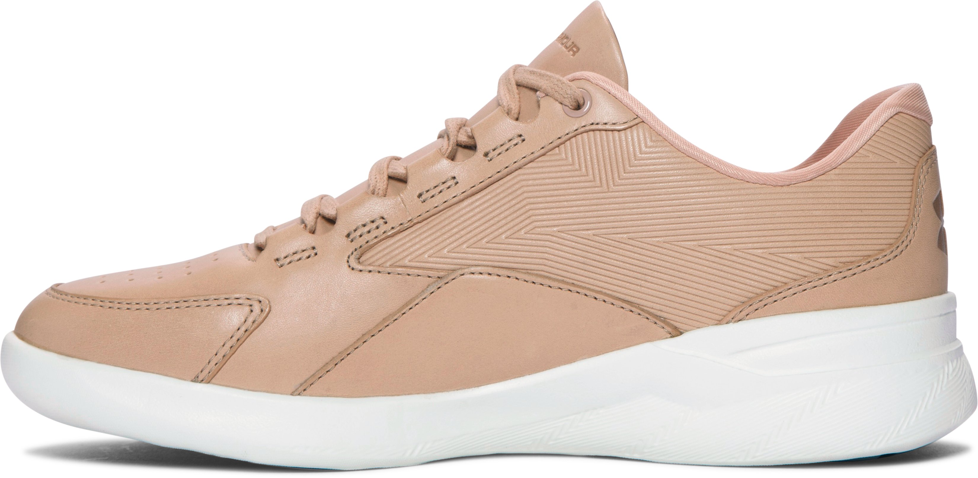 Women's UA Charged Pivot Low Lifestyle Shoes, CORAL SANDS