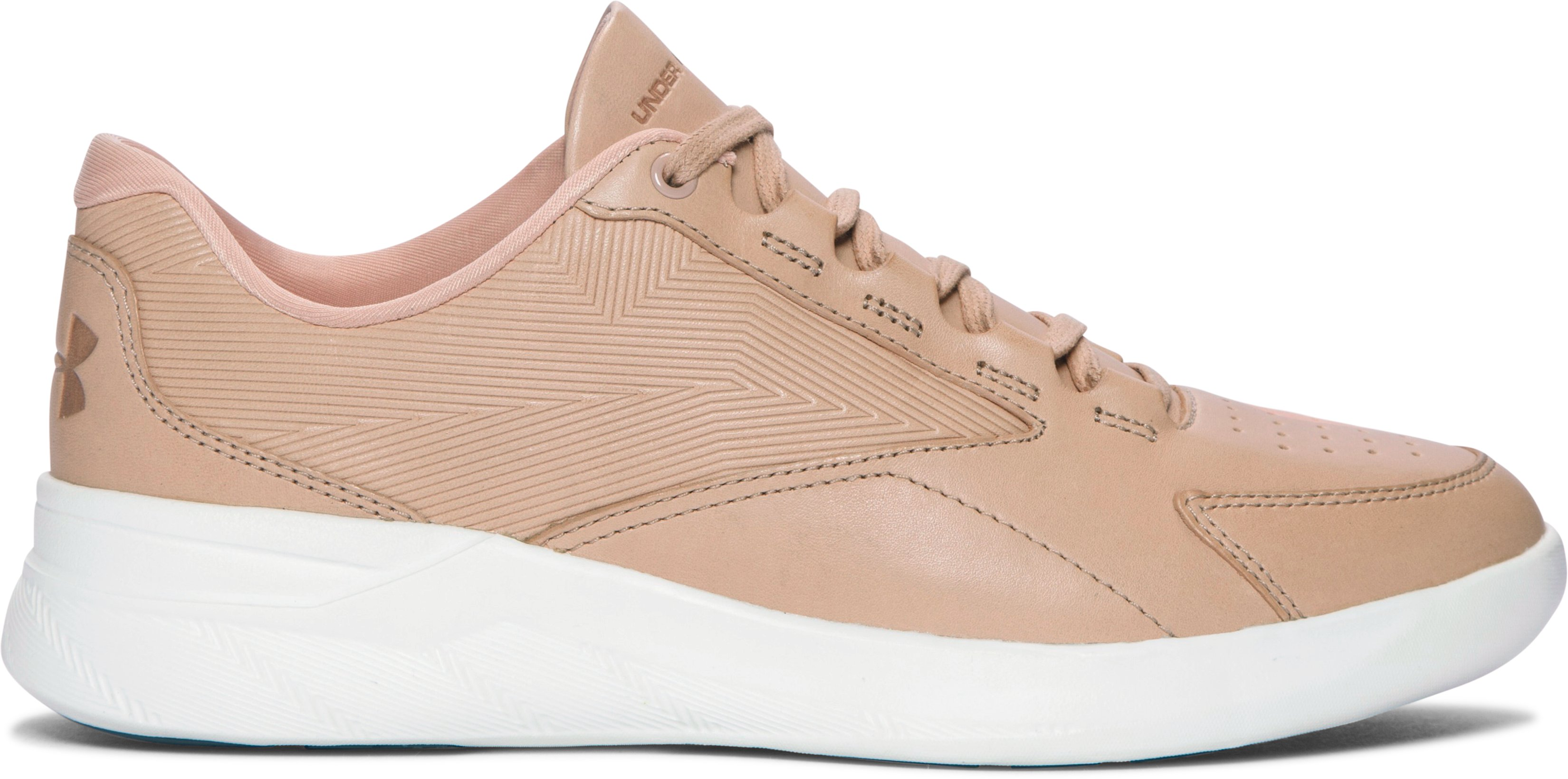 Women's UA Charged Pivot Low Lifestyle Shoes, CORAL SANDS, zoomed image