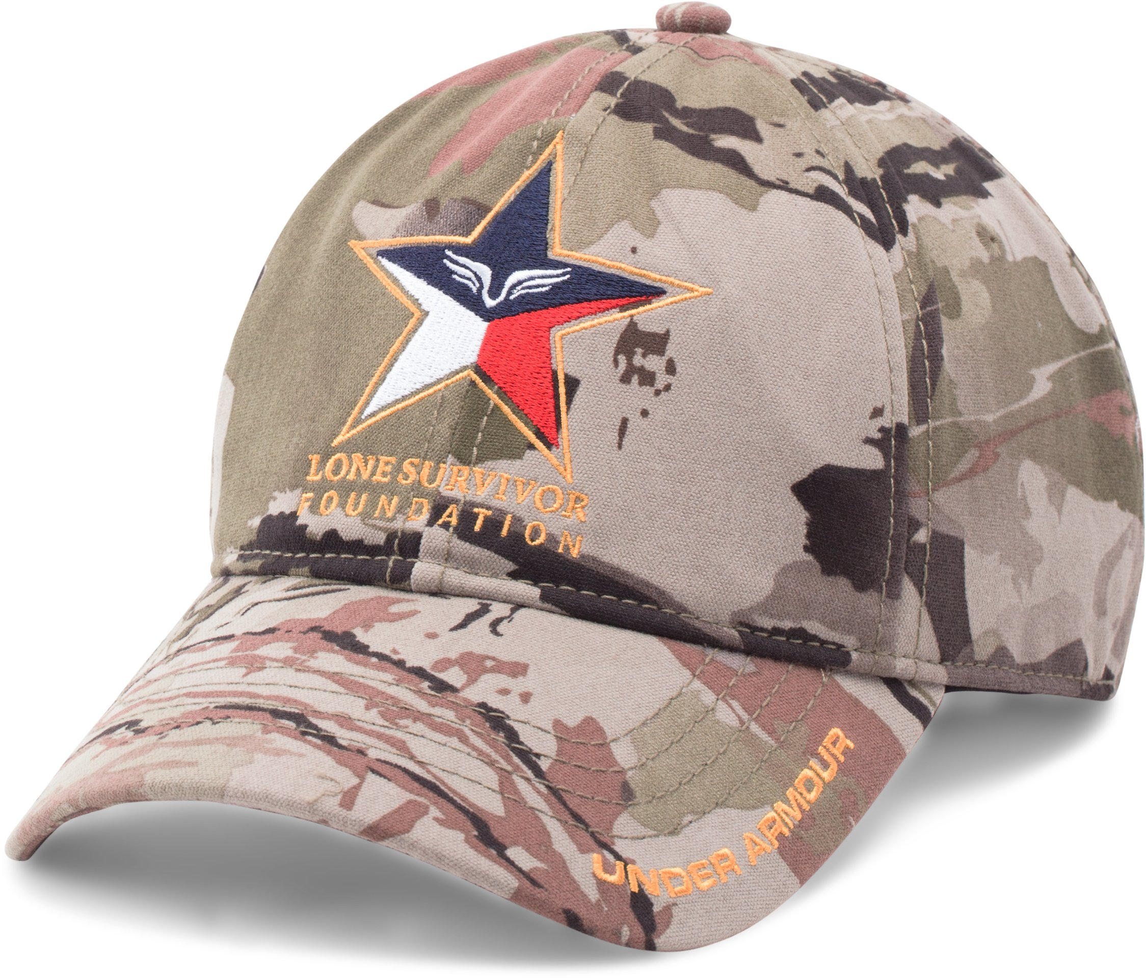 Men's UA Freedom Lone Survivor Camo Cap, RIDGE REAPER® BARREN