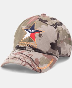 New Arrival Men's UA Freedom Lone Survivor Camo Cap  1 Color $24.99