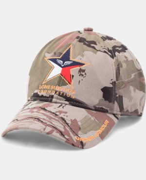 Men's UA Freedom Lone Survivor Camo Cap LIMITED TIME: FREE U.S. SHIPPING 1 Color $24.99