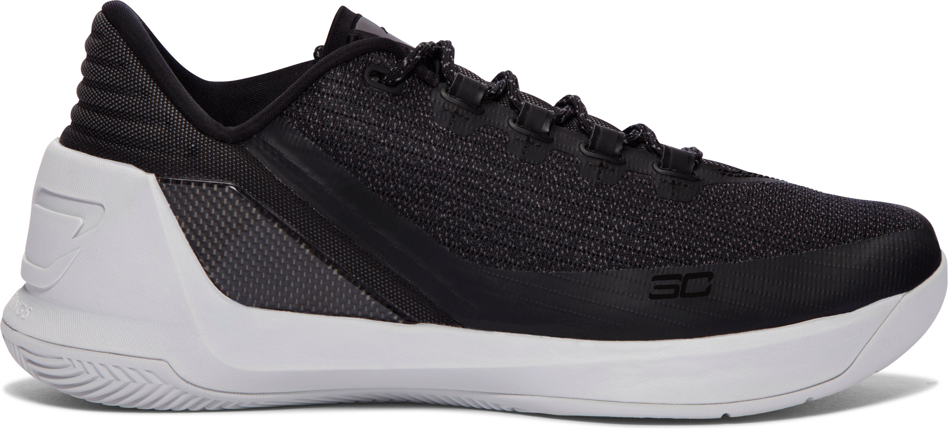 Men's UA Curry 3 Low Basketball Shoes, Black