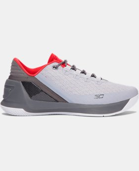 Men's UA Curry 3 Low Basketball Shoes  4 Colors $83.99 to $89.99