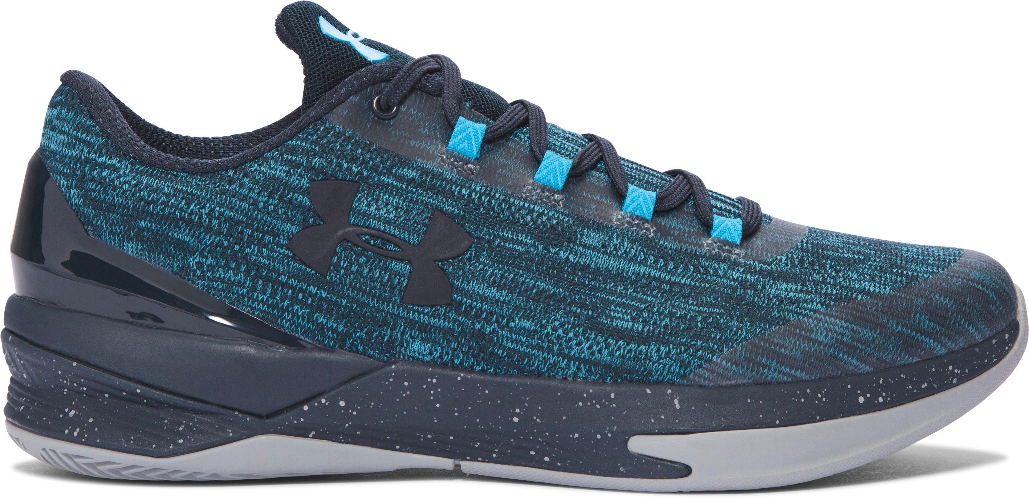 Men's UA Charged Controller Basketball Shoes, BLUE DRIFT