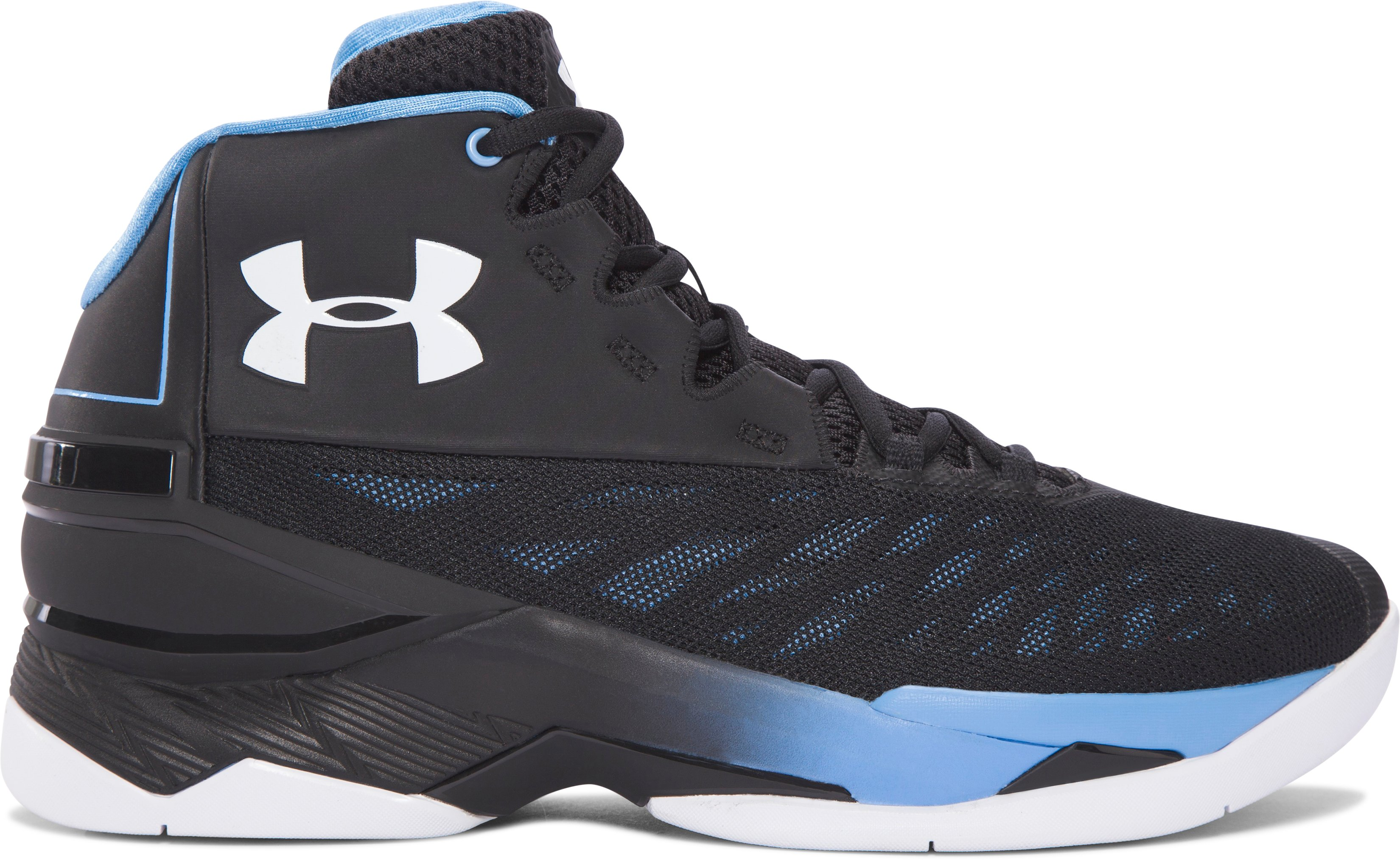 Men's UA Longshot Basketball Shoes, Black ,