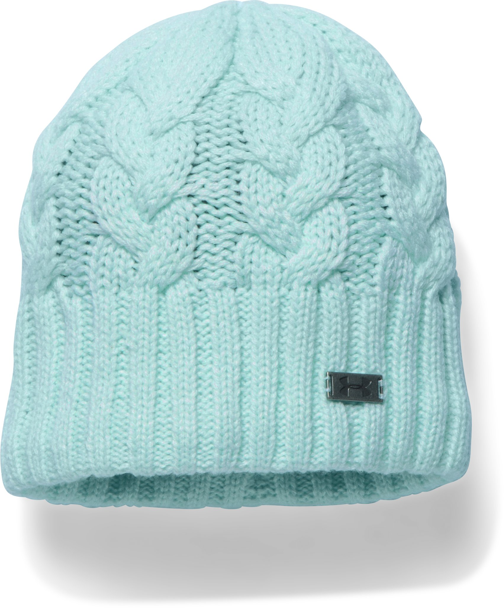 Women's UA Around Town Beanie, AQUA FALLS, undefined