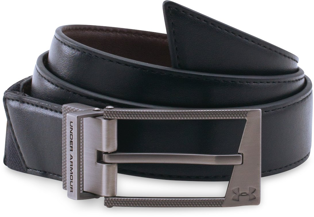 UA Stretch Reversible Belt, Black ,