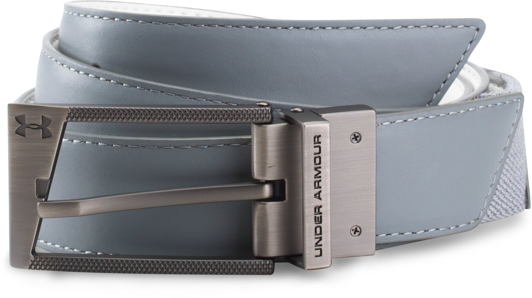UA Stretch Reversible Belt, Steel, undefined