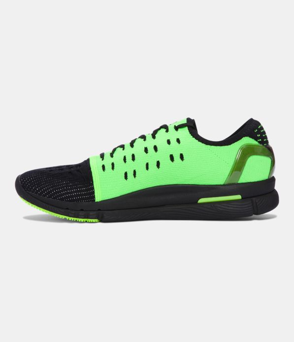 Men S Ua Speedform Slingshot Neon Running Shoes