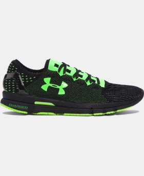 New Arrival  Men's UA SpeedForm® Slingshot Neon Running Shoes   $149.99