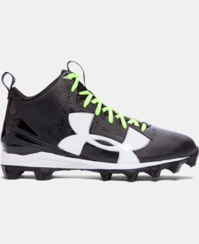 New to Outlet Men's UA Crusher RM Football Cleats  1 Color $37.99