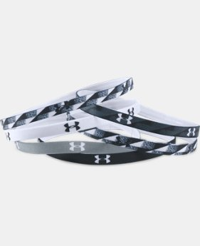 Women's UA Graphic Mini Headbands - 6 Pack LIMITED TIME: FREE U.S. SHIPPING 2 Colors $8.99 to $11.99