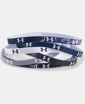 Women's UA Graphic Mini Headbands – 6-Pack  4 Colors $14.99