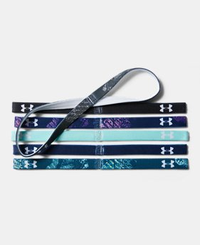 Women's UA Graphic Mini Headbands – 6-Pack  3  Colors $8.99 to $11.24