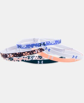 Women's UA Graphic Mini Headbands – 6-Pack  1 Color $8.99 to $11.24