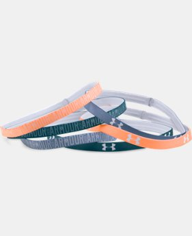 Women's UA Graphic Mini Headbands - 6 Pack LIMITED TIME: FREE U.S. SHIPPING 1 Color $8.99 to $11.99